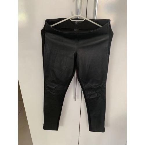 Leather pants ZINI